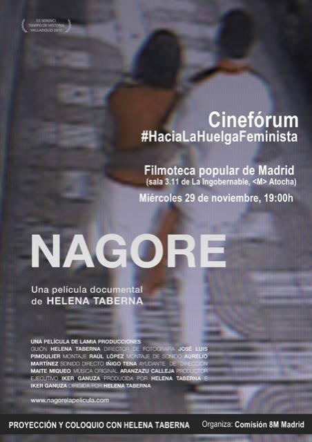 Proyección de NAGORE en la Ingobernable