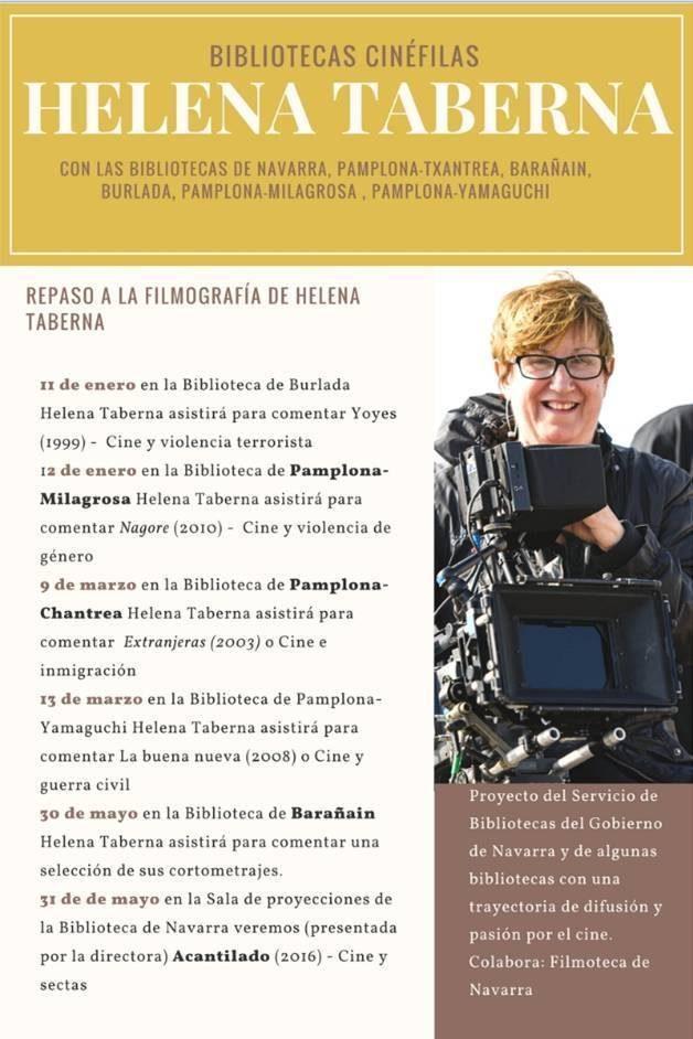 Bibliotecas Cinéfilas: Repaso a la filmografía de Helena Taberna