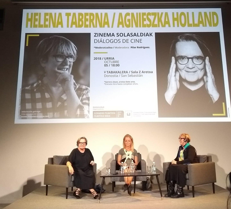 Diálogos de cine: Helena Taberna / Agnieszka Holland
