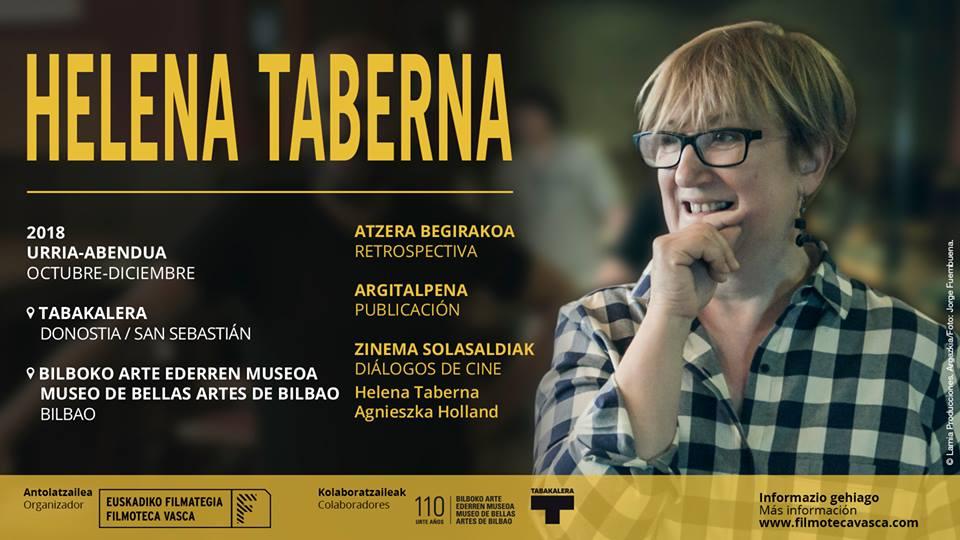 Programa Retrospectiva de Helena Taberna en la Filmoteca Vasca