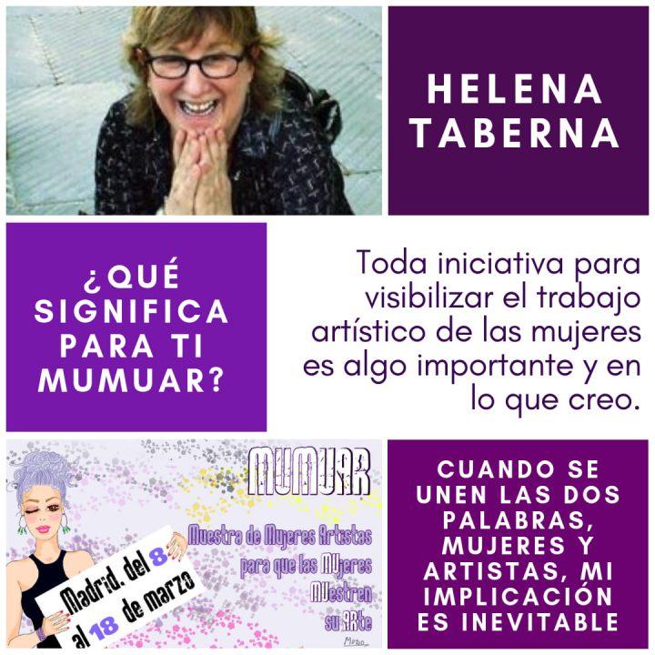 Helena Taberna en MUMUAR