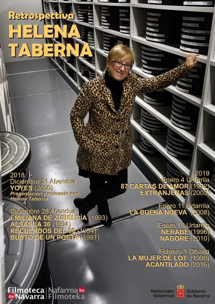 Inauguración de la Retrospectiva de Helena Taberna en la Filmoteca de Navarra