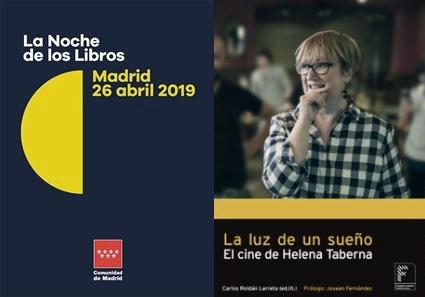 La Noche de los Libros en la Academia de Cine con Helena Taberna