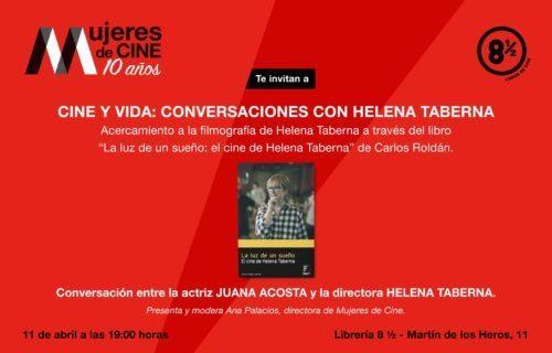 Presentación de «La Luz de un sueño: el cine de Helena Taberna» en la librería 8 y 1/2 de Madrid