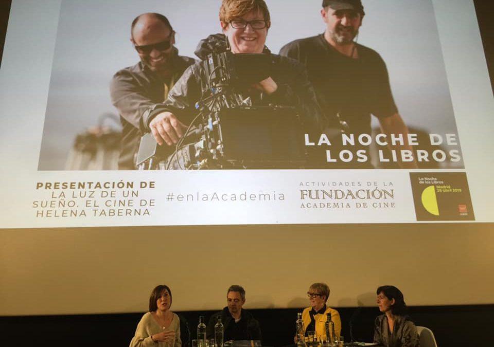 Vídeo presentación del libro «La Luz de un sueño: el cine de Helena Taberna» en la Academia de Cine