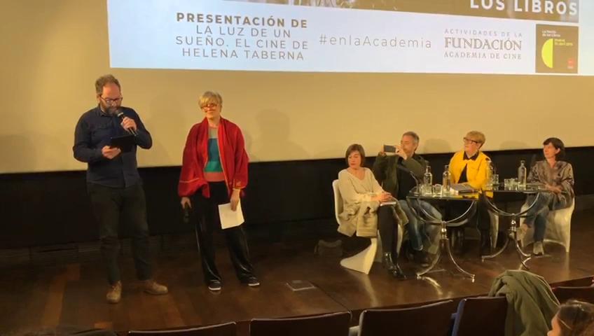 «Consideración de la mirada» poema que inspira a «La Mujer de Lot», primer cortometraje de Helena Taberna proyectado en la Noche de los Libros en la Academia