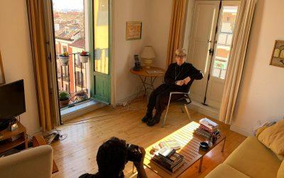 Helena Taberna una de las protagonistas de la exposición fotográfica 'Los cineastas, Europa retratada' en el Festival de Sevilla