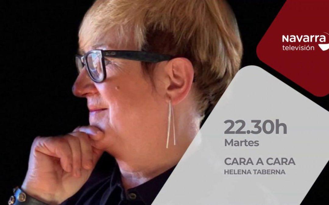 Entrevista a Helena Taberna en Cara a cara