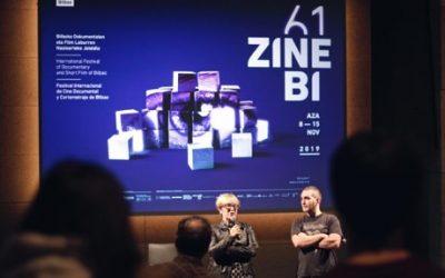 Helena Taberna presenta VARADOS en ZINEBI