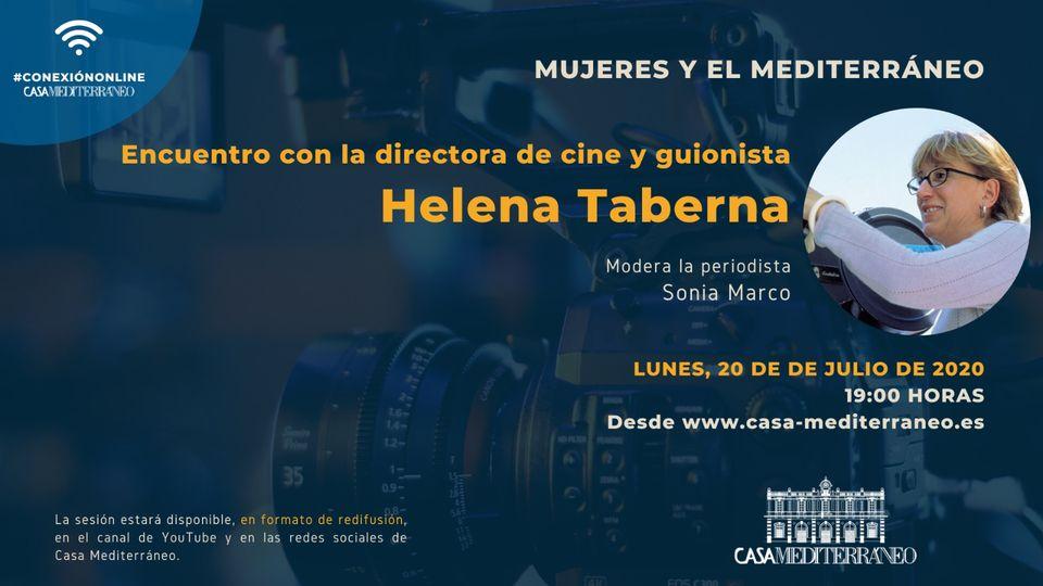 Encuentro con Helena Taberna en CASA MEDITERRANEO